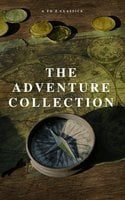 The Adventure Collection: Treasure Island, The Jungle Book, Gulliver's Travels, White Fang, The Merry Adventures of Robin Hood (A to Z Classics) - Jack London,Howard Pyle,Rudyard Kipling,Robert Louis Stevenson,Jonathan Swift,A to Z Classics