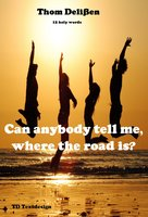 Can Anybody Tell Me Where the Road Is?: 12 Holy Words - Thom Delißen