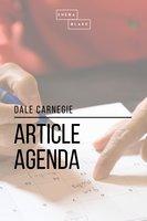 Article Agenda - Dale Carnegie
