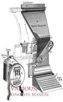 Linotype Manual - Various