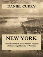 New York: A Historical Sketch of the Rise and Progress of the Metropolitan City of America - Daniel Curry