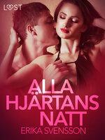 Alla hjärtans natt - erotisk novell - Katja Slonawski