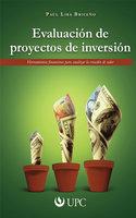 Evaluación de proyectos de inversión - Paúl Lira Briceño