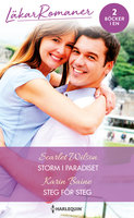 Storm i paradiset / Steg för steg - Scarlet Wilson,Karin Baine