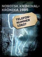 Telefonnummer 10607 - Diverse