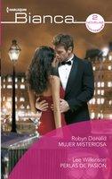 Mujer misteriosa - Perlas de pasión - Robyn Donald, Lee Wilkinson