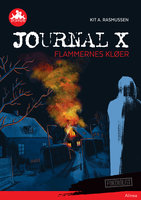 Journal X - Flammernes kløer, Rød Læseklub - Kit A. Rasmussen