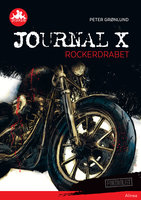 Journal X - Rockerdrabet, Rød Læseklub - Peter Grønlund