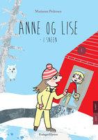 Anne og Lise i sneen - Marianne Pedersen