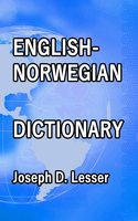 English / Norwegian Dictionary - Joseph D. Lesser