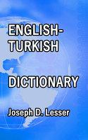 English / Turkish Dictionary - Joseph D. Lesser