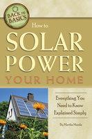 How to Solar Power Your Home - Martha Maeda