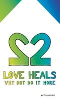 Love heals: why not do it more; as long as there are spirits in this world you will never travel alone - Lydia Muijen