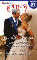 Milliardærens barnepige / Country og sød musik / Bag de gyldne døre - Jules Bennett,Sarah M. Anderson,Joss Wood