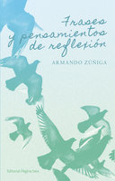 Frases y pensamientos de reflexión - Armando Zúñiga