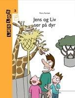 Jens og Liv ser på dyr - Maria Rørbæk