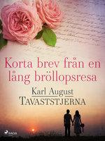 Korta brev från en lång bröllopsresa - Karl August Tavaststjerna