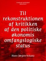 Til rekonstruktionen af kritikken af den politiske økonomis omfangslogiske status - Hans-Jørgen Schanz