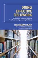 Doing Effective Fieldwork - Elia Shabani Mligo