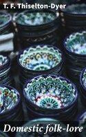 Domestic folk-lore - T. F. Thiselton-Dyer