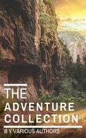 The Adventure Collection: Treasure Island, The Jungle Book, Gulliver's Travels... - Jack London, Howard Pyle, Rudyard Kipling, Robert Louis Stevenson, Jonathan Swift
