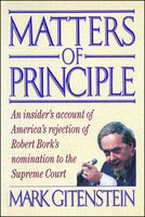 Matters of Principle - Mark Gitenstein