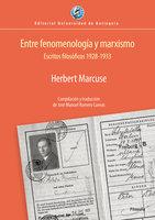Entre fenomenología y marxismo - Herbert Marcuse