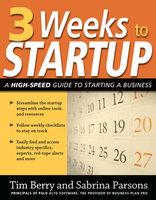 3 Weeks to Startup - Tim Berry, Sabrina Parsons