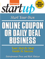 Start Your Own Online Coupon or Daily Deal Business - Rich Mintzer, Entrepreneur magazine