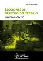 Lecciones de derecho del trabajo - Guillermo Boza
