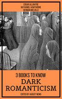 3 Books To Know Dark Romanticism - Edgar Allan Poe, Herman Melville, Nathaniel Hawthorne, August Nemo