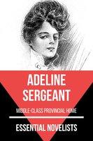 Essential Novelists - Adeline Sergeant - Adeline Sergeant, August Nemo