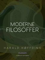 Moderne filosoffer - Harald Høffding