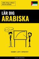 Lär dig Arabiska - Snabbt / Lätt / Effektivt - Pinhok Languages