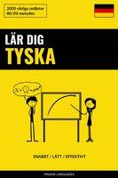 Lär dig Tyska - Snabbt / Lätt / Effektivt - Pinhok Languages