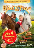 Bibi & Tina - Alle 4 Bücher zu den Kinofilmen - Bettina Börgerding, Wenka von Mikulicz