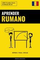 Aprender Rumano - Rápido / Fácil / Eficaz - Pinhok Languages