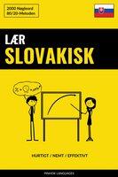 Lær Slovakisk - Hurtigt / Nemt / Effektivt - Pinhok Languages