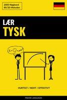 Lær Tysk - Hurtigt / Nemt / Effektivt - Pinhok Languages