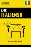 Lær Italiensk - Hurtigt / Nemt / Effektivt - Pinhok Languages