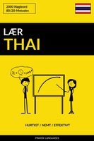 Lær Thai - Hurtigt / Nemt / Effektivt - Pinhok Languages