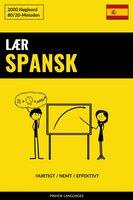Lær Spansk - Hurtigt / Nemt / Effektivt - Pinhok Languages