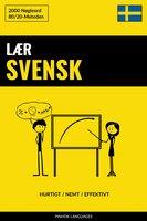 Lær Svensk - Hurtigt / Nemt / Effektivt - Pinhok Languages