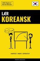 Lær Koreansk - Hurtigt / Nemt / Effektivt - Pinhok Languages