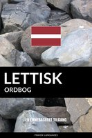 Lettisk ordbog - Pinhok Languages