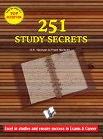 251 Study Secrets Top Achiever - B.K. Narayan, Preeti Narayan