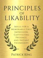 Principles of Likability - Patrick King