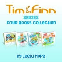 Tim and Finn the Dragon Twins Series Four-Books Collection - Leela Hope