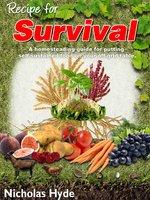 Recipe for Survival - Nicholas Hyde