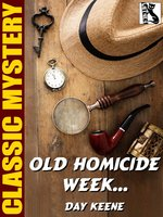 Old Homicide Week… - Day Keene